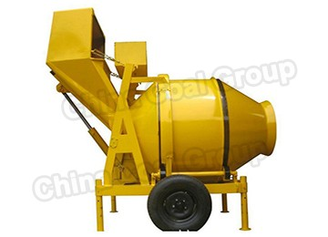 Jzf350-A Large Industrial Diesel Automatic Concrete Mixer