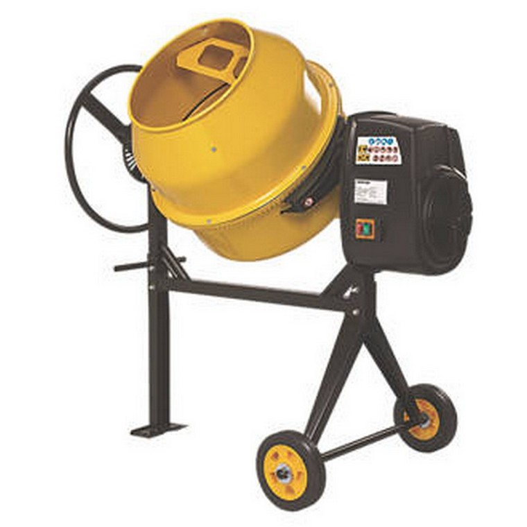 134 Ltr Upright Electric Concrete Mixer 230v
